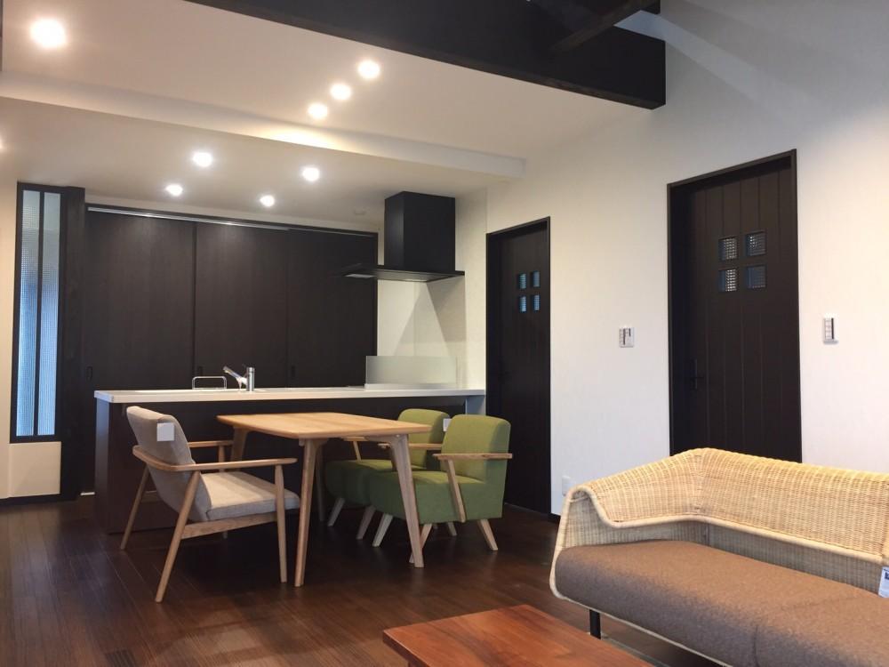 リフォーム後のマンション内装